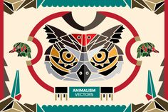 Vectors - Animalism by Jackkrit Anantakul available at YouWorkForThem.