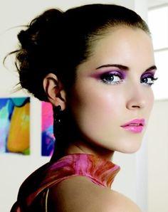 Chic Purple Eyeshadow Idea
