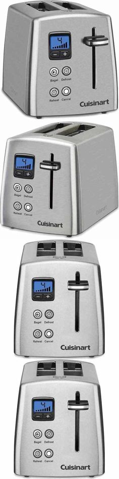 Toasters Cuisinart Cpt 440 Touch To Toast Leverless 4 Slice