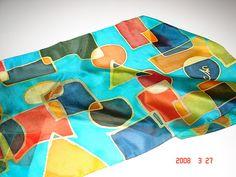 Pintura em Seda - Silk Painting by Atelier Mônica de Godoi, via Flickr