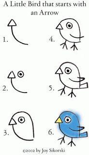 tiere-malen-mit-kindern-dekoking-com Dessin ? Art For Kids, Crafts For Kids, Arts And Crafts, Drawing For Children, Easy Drawing For Kids, Kid Art, Fall Crafts, Directed Drawing, Bird Drawings