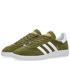 Adidas Spezial (Dust Green & White)