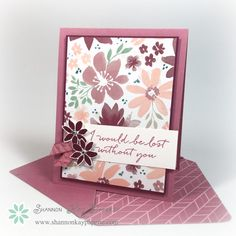 The Blooms and Bliss Suite of products in the new Stampin' Up! annual catalog are amazing. The colors and flowers are so soft and whimsical and are a favorite new product of mine! If you would like to browse the...