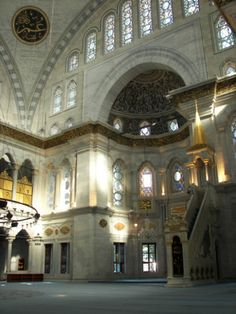 Mezquita Nuruosmaniye #estambul #turquia #mezquitas