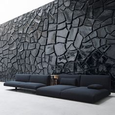 Awesome Modern Sofa Design Ideas You Never Seen 2 Interior Walls, Interior And Exterior, Interior Design, Lobby Interior, Design Art, Dining Furniture, Furniture Design, Vintage Furniture, Dark Furniture
