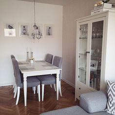 Home Ikea Wohnzimmer livingroom Landhausstil Shabby Vintage weiß grau