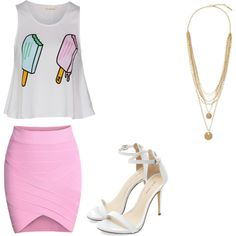 summer by macygordon on Polyvore featuring polyvore fashion style Vince Camuto