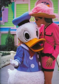 Chanel Suit and Donald Duck