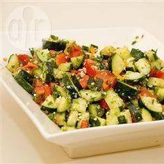 Israeli vegetable salad - Salat yirakot Yisraeli