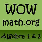 Over 500 videos that explain and demonstrate solving problems in Algebra I, Algebra II, and Calculus.