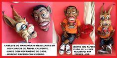 Construcción de marionetas de cursillo con Ángel Calvente