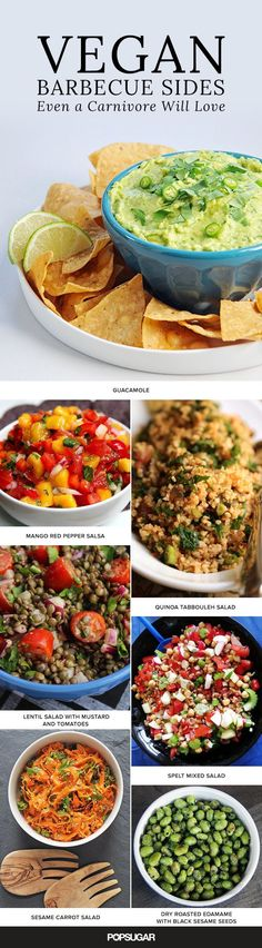 'Tis the season of camping, grilling, and backyard parties. While classic barbecue sides like potato salad and macaroni and cheese are big favorites, they don't always work for those following a vegan diet. If you're planning a barbecue this holiday, here are more than 20 side dishes that will have vegan friends coming back for seconds. #veganDishes