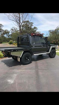 Toyota Lc, Toyota Trucks, Toyota Hilux, Toyota Tundra, Pick Up, Landcruiser Ute, 4x4, Ute Canopy, Land Cruiser 70 Series