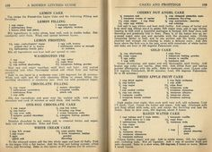 Vintage Recipes: Cake and Frosting Recipes From 1946 · Posted on ...