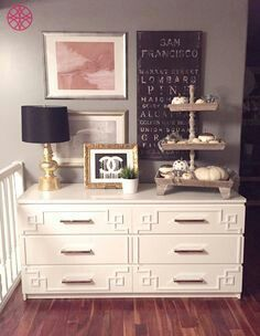 Cool way to transform plain IKEA furniture.