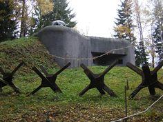 Czech world war 2 pill box bunker