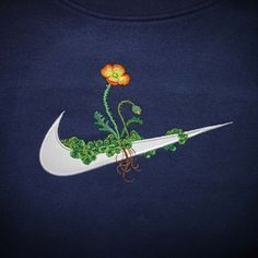 Genius idea: James Merry's embroidered floral sportswear logos, collab with Opening Ceremony