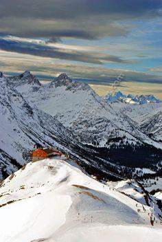Lech-Zurs am Arlberg, Tirol, Austrian Alps, Austria by AndyEvans