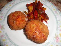 Rotolo di carne tritata con peperoni