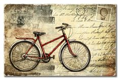 Josep Férriz Artworks: Vintage Red Bike