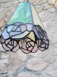 Lamp Light lead glass hanging small light by PerfectlyGoodStuff, $30.00