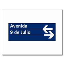 Travel With MWT The Wolf: World Famous Streets  Avenida 9 de Julio Buenos Ai...