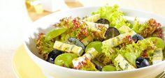 Salat mit Weintrauben