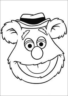 Muppets Fargelegging. Tegninger 3