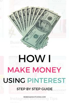 Check out these affiliate marketing tips for beginners who want to make money online. Learn about programs you can join and how you can make passive income by pinning your affiliate links on Pinterest. If you're a blogger or online business owner interested in earning money with affiliate marketing, click through for advice and ideas!