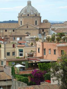 Rome's rooftops, Italy / Krovovi Rima