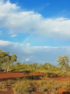 WW2 roadside rest area, Northern Territory. We camped here one night on the way through to Central Australia and were lucky enough to score a rainbow.