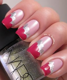 Valentine's Cloud Nails<3  | Gems in a Bottle