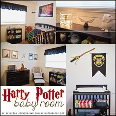 29 Ideas for baby nursery harry potter awesome Harry Potter Nursery, Harry Potter Baby Shower, Nursery Themes, Nursery Ideas, Baby Boy Nurseries, Babies Nursery, Nursery Neutral, Baby Time, Baby Room