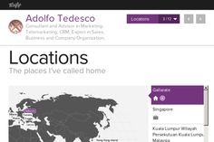 locations visualization: Adolfo Tedesco