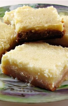 Gluten Free Lemon Bars are made with almond flour and sweetened with honey. Easy to make and a treat to eat!