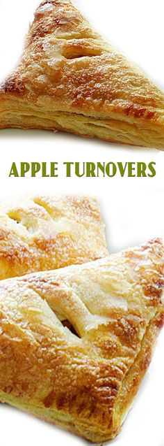 Super Easy Apple Turnovers