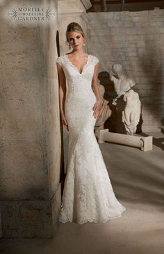 The 2015 Mori Lee collection is here! #weddingdress #bridal 2717 from Mori Lee