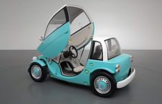 toyota camatte kid's car at tokyo toy show