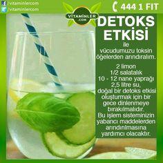 Detoks, vücudumuza çeşitli yollarla giren ve atık madde olarak dışarı atılmayı bekleyen zararlı toksinlerden kurtulmaktır. Siz de geceden hazırlayacağınız bu formül ile yeni güne vücudunuzda bir detoks etkisi yaratarak başlayabilirsiniz. #metabolizma #destekleyici #besin #sebze #meyve #vitamin #beslenme #bağışıklıksistemi #vitamin #balıkyağı #omega3 #sağlık #diyet #health #sağlıklıyaşam #antioksidan #bitkisel #doğa #cvitamini #eklem #eklemağrısı #mineral #sindirim #probiyotik