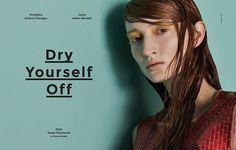 Hair by Davide Barbieri, Sicky Magazine Kristos Giourgas Helen Rendell SS14 June 2014