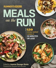 Runner's World Meals On The Run Cookbook Review | Cookbook | Runner's Fuel |Recipes for Runners