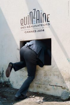 The poster for Directors' Fortnight at #Cannes '14