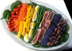 Nicoise Salad aka Salade Nicoise with fresh seared tuna and the best vinaigrette you will ever have!