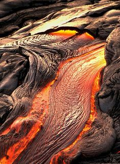 Cooling lava - cool texture