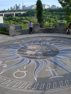 Zodiac compass Chesterhill Rd. Toronto 2012