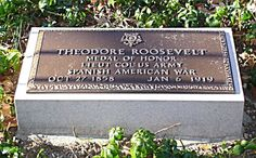 Theodore Roosevelt (1858 - 1919) - Find A Grave Photos,,,,this was added later at the gravesite