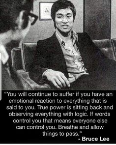 Bruce lee is a Hollywood and martial arts icon. His contribution to the world of fighting is still remembered today. Wise Quotes, Quotable Quotes, Great Quotes, Words Quotes, Motivational Quotes, Inspirational Quotes, Qoutes, Cherish Quotes, Quotes On Life