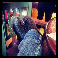 Just lounging on my break...