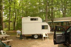 Small camp trailer