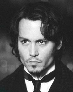 Frederick Abberline. Johnny Depp. From Hell.